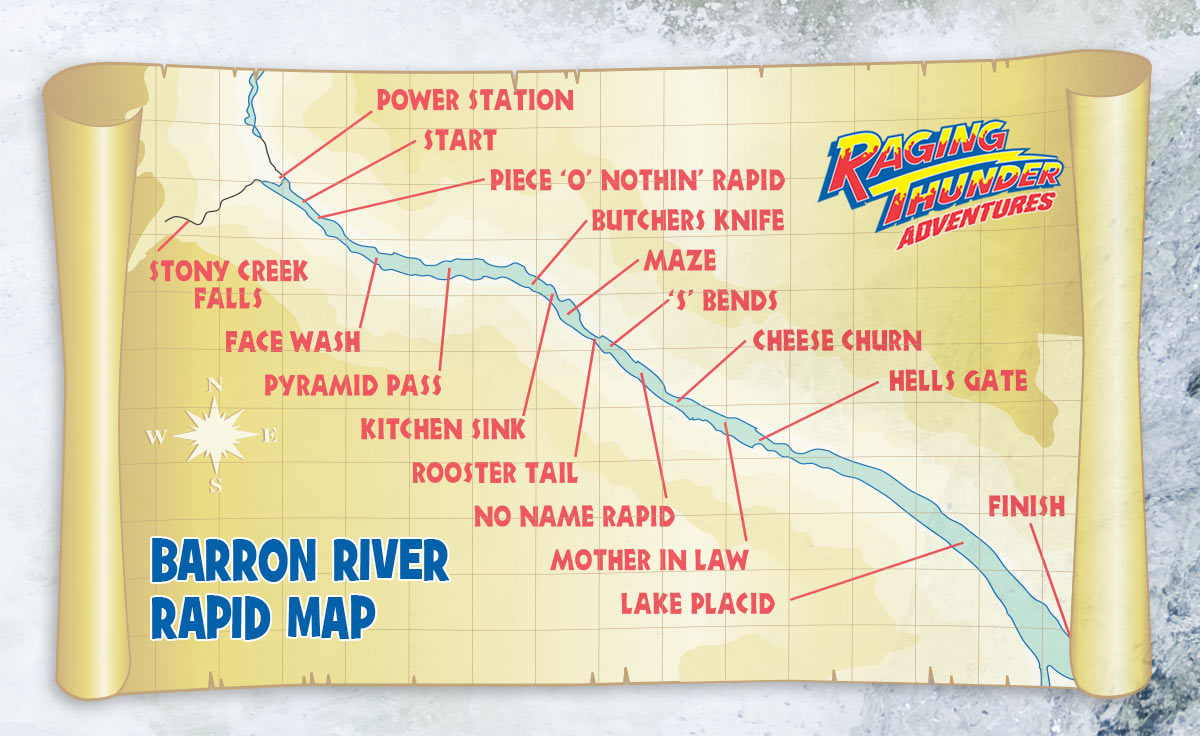 Barron River Rapid Map